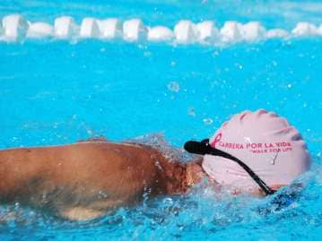 """Nadar por la vida/swim for life"", este domingo"