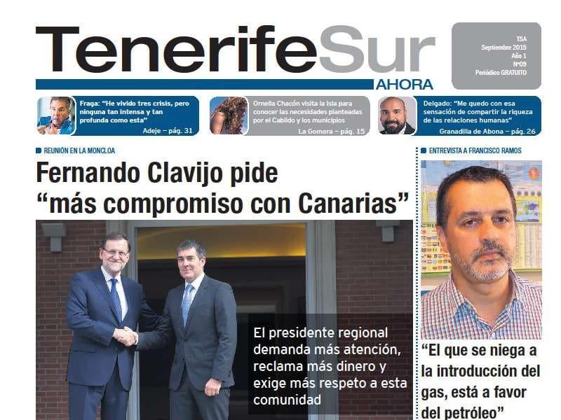 Ya está en la calle la nueva edición de Tenerife Sur ¡Ahora!