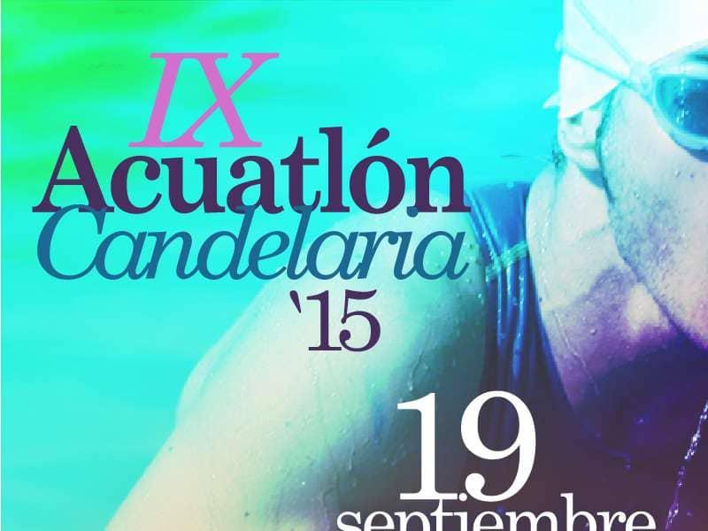 Abierto el plazo de inscripción del IX Acuatlón Villa de Candelaria