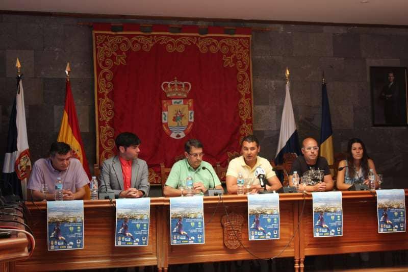 Presentación del I Torneo de Fútbol Femenino Costa San Miguel 2015