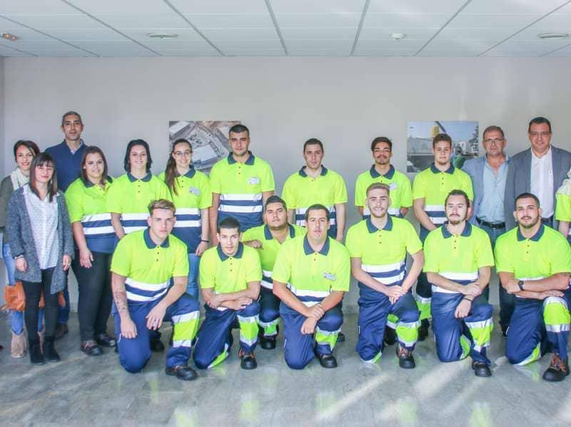 60 personas se cualifican con el Programa Experimental de Empleo