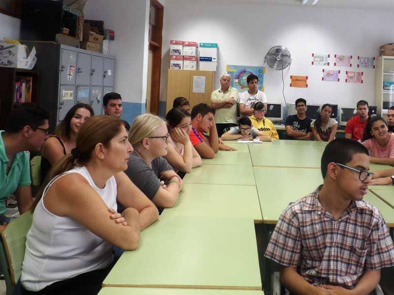 Arona organiza un programa de educación afectivo-sexual para alumnado con diversidad funcional