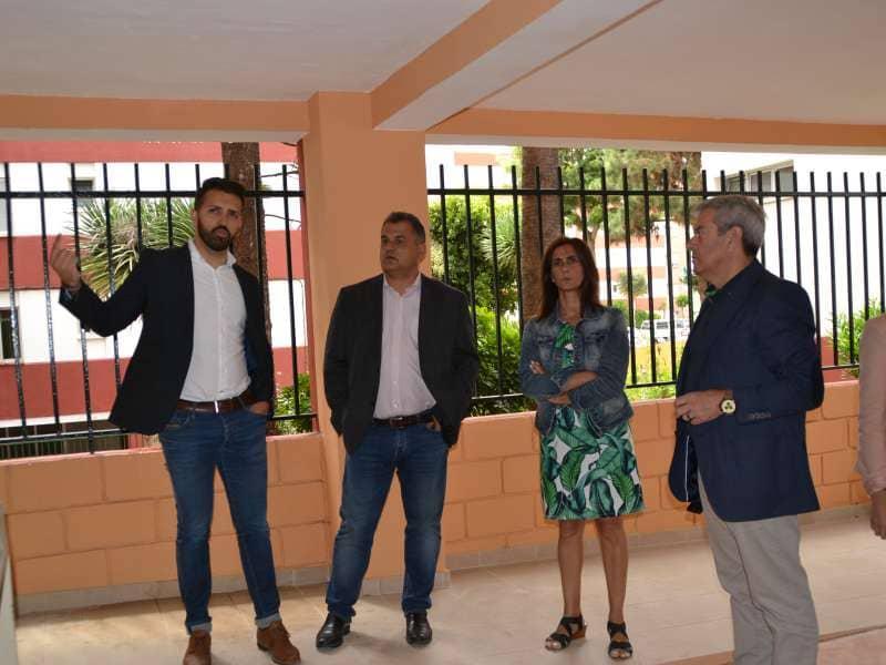 El Cabildo constata la próxima finalización de la rehabilitación de 140 viviendas en La Verdellada