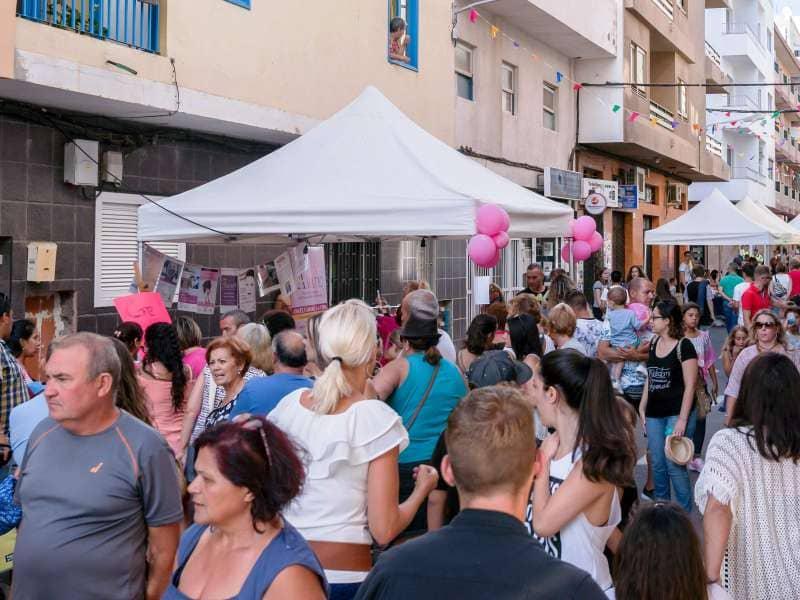 Onda TenerifeLa VI edición de Arona en Colores congrega en Las Galletas a más de 25.000 personas
