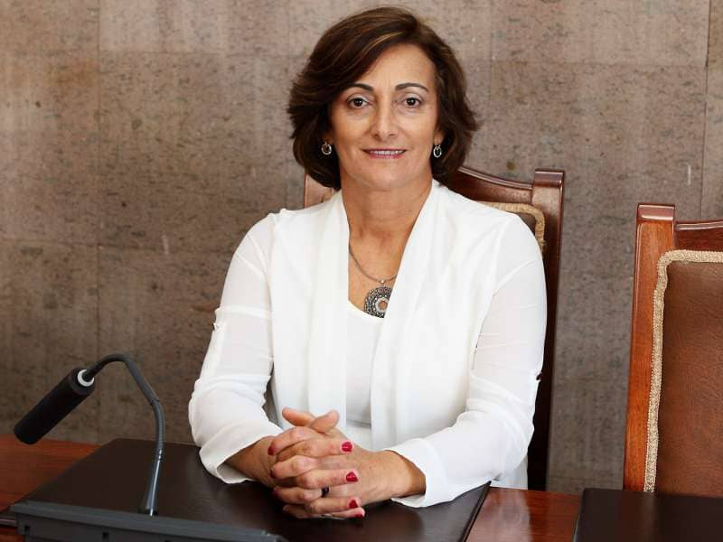 """María de la O: """"Tenemos más de 12 edificios ocupados en Granadilla"""""""