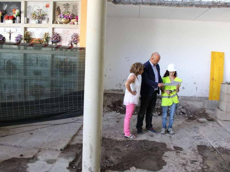 Granadilla acomete un proyecto de ampliación del cementerio municipal