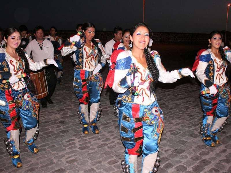 El folclore más internacional se dan cita en El Médano