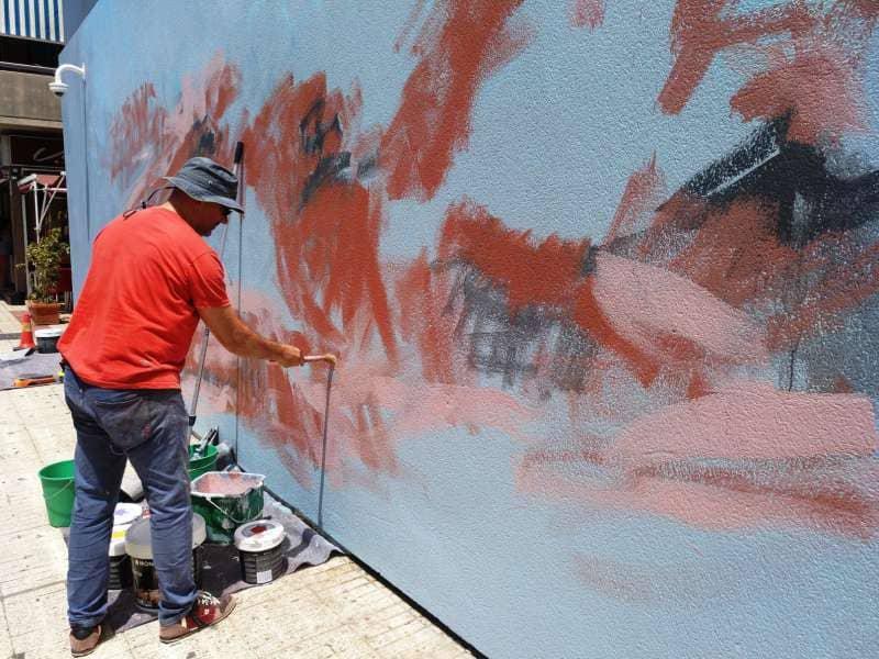 Sergio Linares hará del Centro Empresarial de Las Galletas una obra de arte