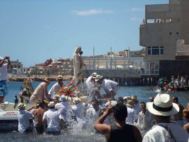 El Médano celebra sus fiestas en honor a Nuestra Señora Mercedes de Roja