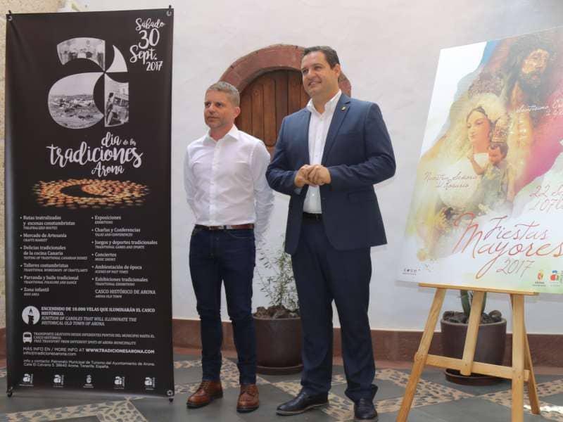 Arona pone en valor el Casco y las medianías en la celebración de sus Fiestas Mayores