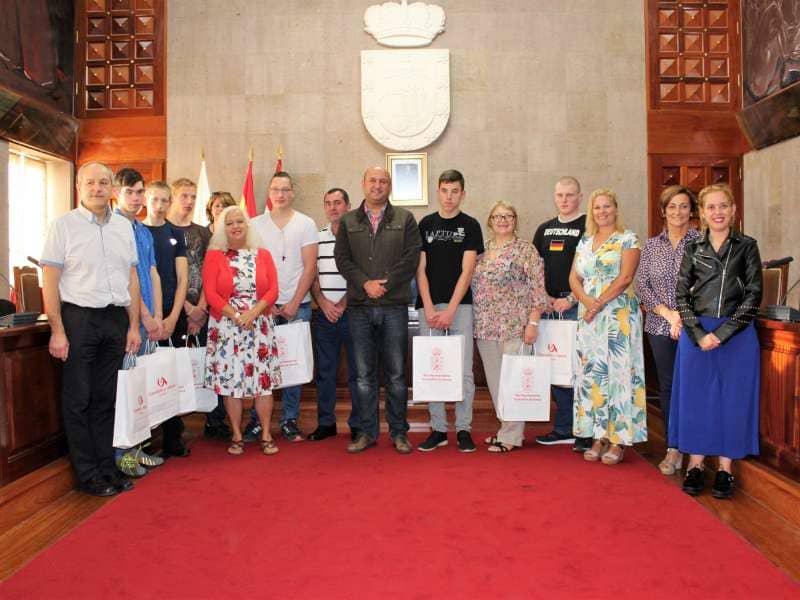 Estudiantes del programa Erasmus realizan prácticas formativas en el municipio
