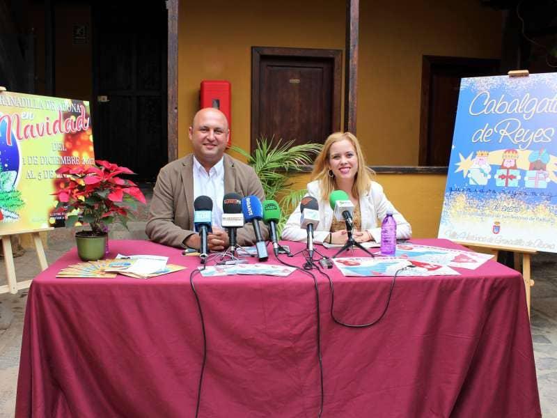 Granadilla de Abona despliega más de una treintena de actos por Navidad