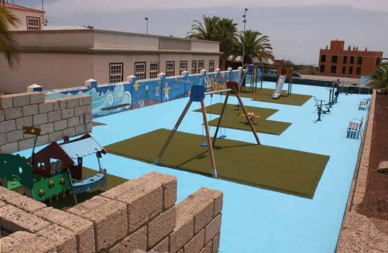 Concluye el proyecto de acondicionamiento del parque urbano