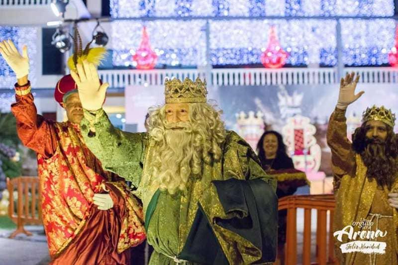 Casi 600 personas ayudarán a los Reyes en Los Cristianos