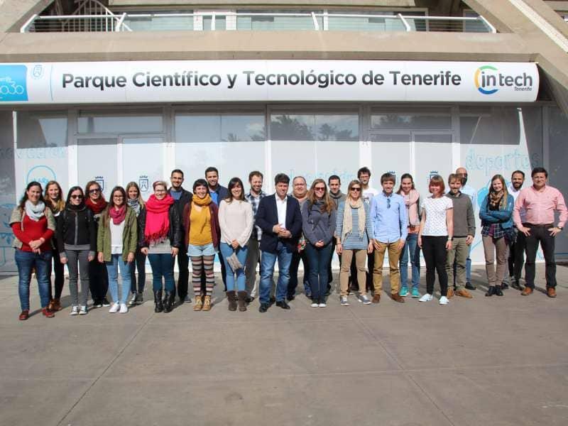 El equipo científico del Involcan y el área de Medio Ambiente del ITER desarrollan 23 proyectos