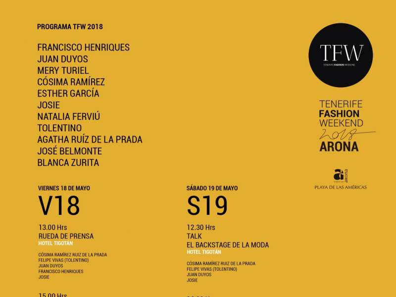 Onda TenerifeArona se convierte en el centro neurálgico de la moda
