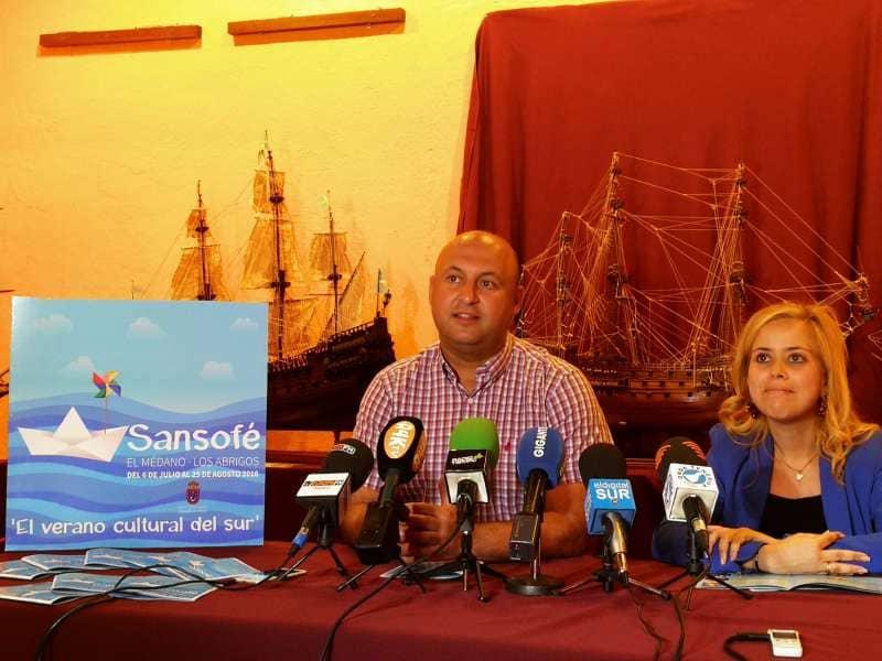 La costa de Granadilla de Abona abre las puertas del verano cultural del sur 'Sansofé 2018'
