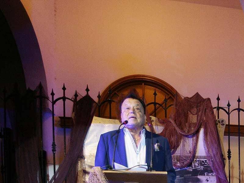 Pepe Barrios inaugura las fiestas del Carmen