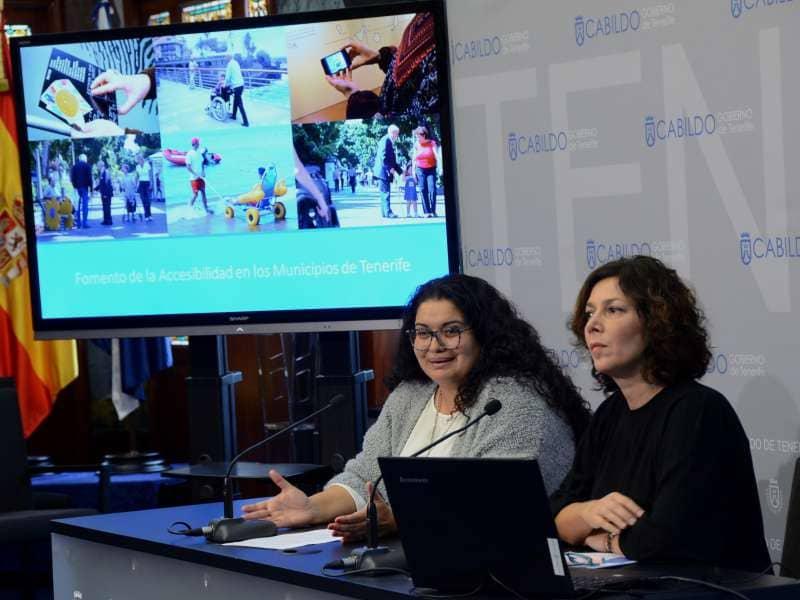 El Cabildo inicia un programa para impulsar la accesibilidad de espacios y servicios municipales