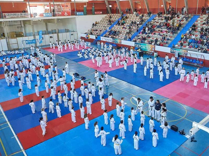 400 taekwondistas se citan en Granadilla