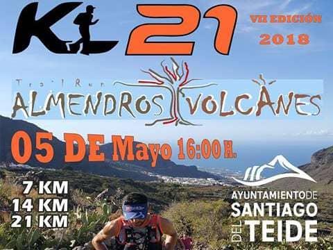 Abiertas las inscripciones para la VII Edición del Trail Run Almendros y Volcanes