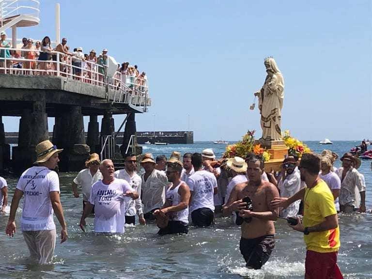 El Médano celebra sus fiestas en honor a Nuestra Señora de las Mercedes de Roja