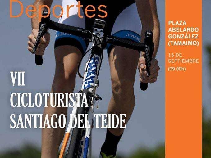Más de 150 ciclistas participarán este domingo en la VII Marcha Cicloturista de Santiago del Teide