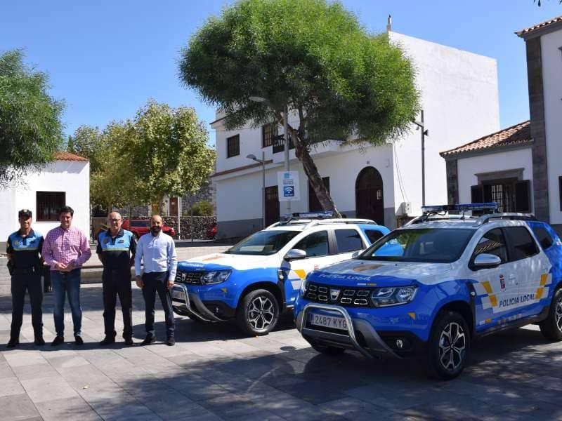 Se presenta la nueva flota de vehículos para la Policía Local
