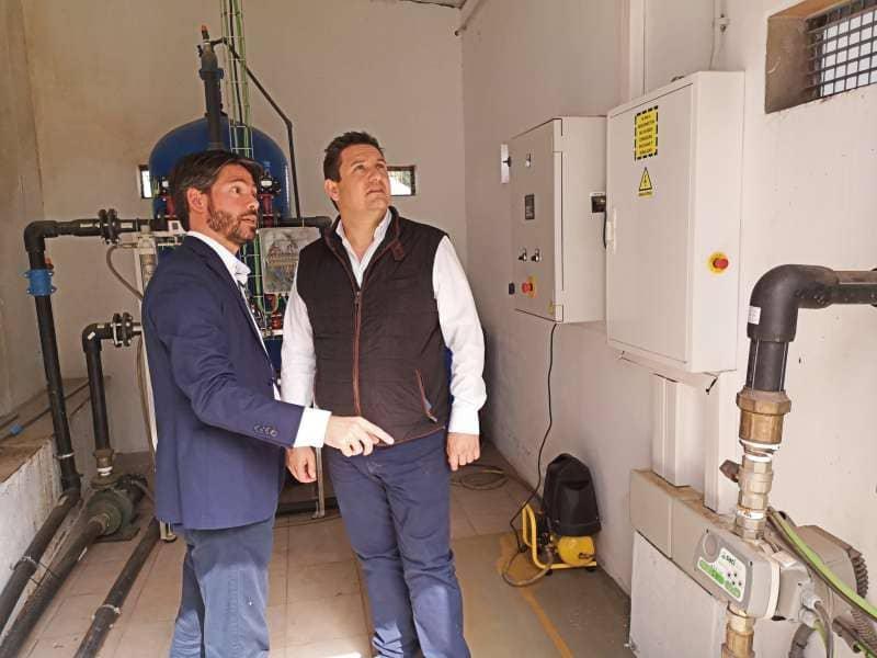Arona genera ya más de cinco mil metros cúbicos de agua reutilizada con la EDAR