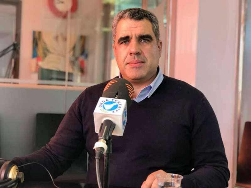 "Cristopher Marrero, alcalde de Valle Gran Rey: ""Yo no me considero tránsfuga"""